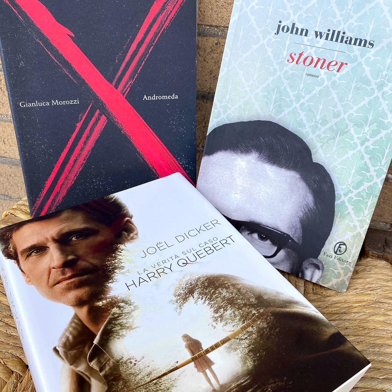 3 libri che tifaranno dire wow stoner andromeda harry quebert