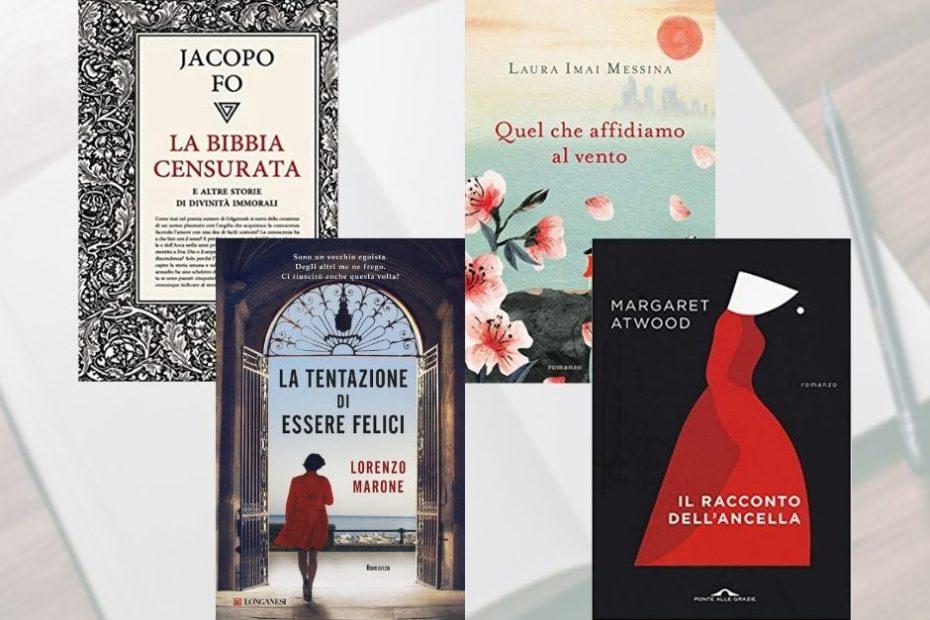 4 romanzi da leggere a maggio di libri nello scaffale