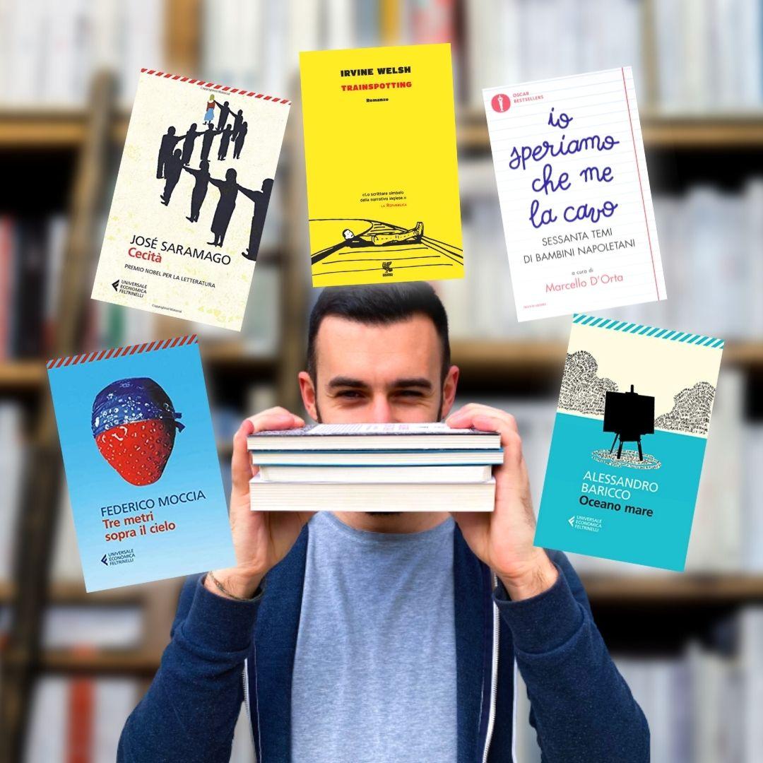 5 libri anni 90'